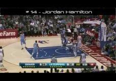 NBA Top 15 dėjimų per žaidėją