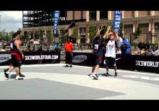 Gražiausios akimirkos iš FIBA 3×3 World turo Niujorke