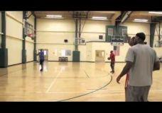 Kevin Durant ir LeBron James treniruotės I dalis