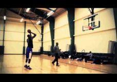 Kevin Durant ir LeBron James treniruotės II dalis