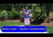 NBA pamėgdžiotojas : Dizzy Grant iš Harlem Globetrotters 2 dalis