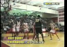 Jauno ir talentingo Eddy Curry krepšinio momentai atstovaujant Thornwood mokyklai