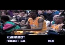 Kevin Garnett mokyklos laikais