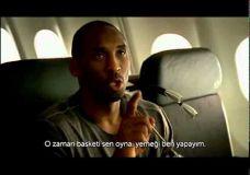 Smagi Turkijos avialinijų reklama su K.Bryant