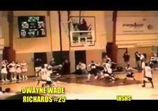 Jauno Dwayne Wade šėlsmas mokyklos lygoje