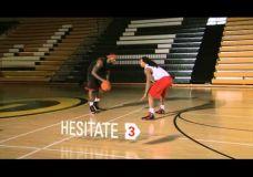 LeBron James treniruotė : Gynėjo apėjimas