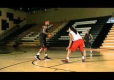 LeBron James treniruotė : erdvės susikurimas bei kamuolio išmetimo technika