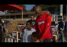 NBA krepšininkai atiduoda duoklę gyvenimo nuskriaustiems vaikams