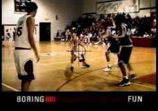 Nike linksmumo policija su tokiais tvarkdariais kaip Garnett, Hardaway, Porter
