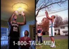 """Juokinga Sprite reklama su Grant Hill, Tim Duncan – """"Aukšti žmonės"""""""