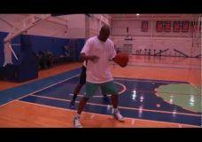 Carmelo Anthony treniruojasi kartu su Hakeem Olajuwon III dalis