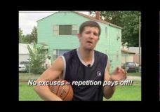 Ganon Baker metimo bei driblingo treniruotės