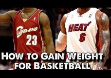 Kaip užsiaugint krepšininkams svorį