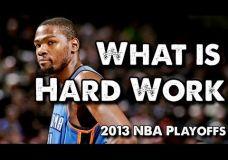 Krepšinio motyvacija – Kas yra sunkus darbas?