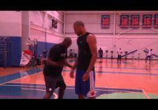 Hakeem Olajuwon mokina Tyson Chandler klaidinančių judesių II dalis
