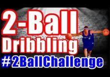 Treniruotė su dviem krepšinio kamuoliais