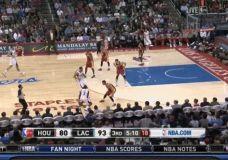 Chris Paul judėsiukai prieš Rockets komandą [gif]