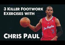3 kojų pratimai kartu su Chris Paul