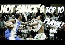 Hot Sauces Top 10 gatvės krepšinio elementų 2013 metai