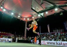 2013 FIBA 3×3 dėjimų konkurso kvalifikacija kartu su Kristaps, Smoove ir Lipek