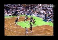Neužmirštami momentai: Blogieji Pistons vyrukai
