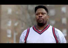 Patrick Ewing – Snickers reklamoje
