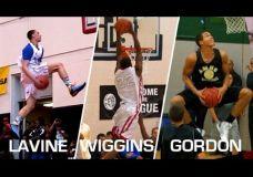Galimi artėjančio NBA dėjimų konkurso dalyviai: Andrew Wiggins, Zach LaVine, Aaron Gordon