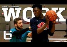 Filmas apie ateities krepšinio žvaigždę – Stanley Johnson