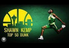 Top 50 Shawn Kemp  dėjimų