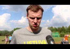 Lietuvos rinktinė pradėjo pasiruošimą pasaulio čempionatui