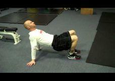 Apatinės kūno dalies treniruotė su savo kūno mase