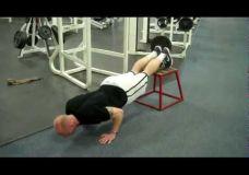 Viršutinės kūno dalies stiprinimo treniruotės