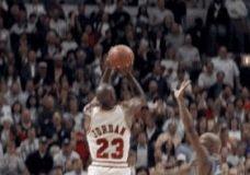 Legendinis MJ metimas GIF