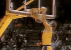 Magic Johnson perdavimas gulint GIF