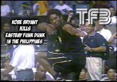 Kobe Bryant šėlsmas Filipinuose prieš daugybę metų atgal