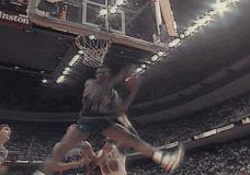 Firminis Dennis Rodman kamuolio atsikovojimas GIF