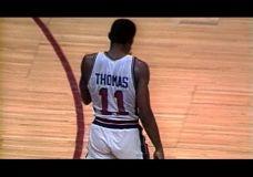 Isiah Thomas – 16 taškų per 90 sekundžių