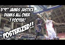 Galingokas James Justice dėjimas
