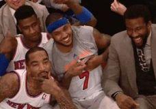 Linksmieji New York Knicks GIF