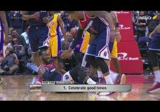 Metų NBA atgrubnagiai