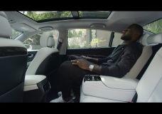 Kia K900 reklamoje LeBron James